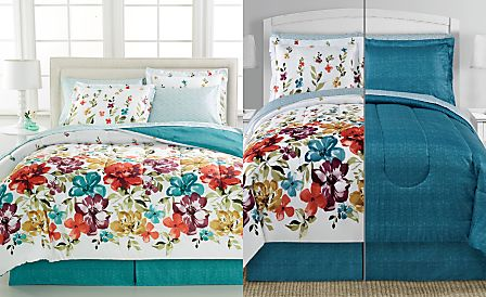CLOSEOUT! Haven 8-Pc. Bedding Ensembles, Reversible
