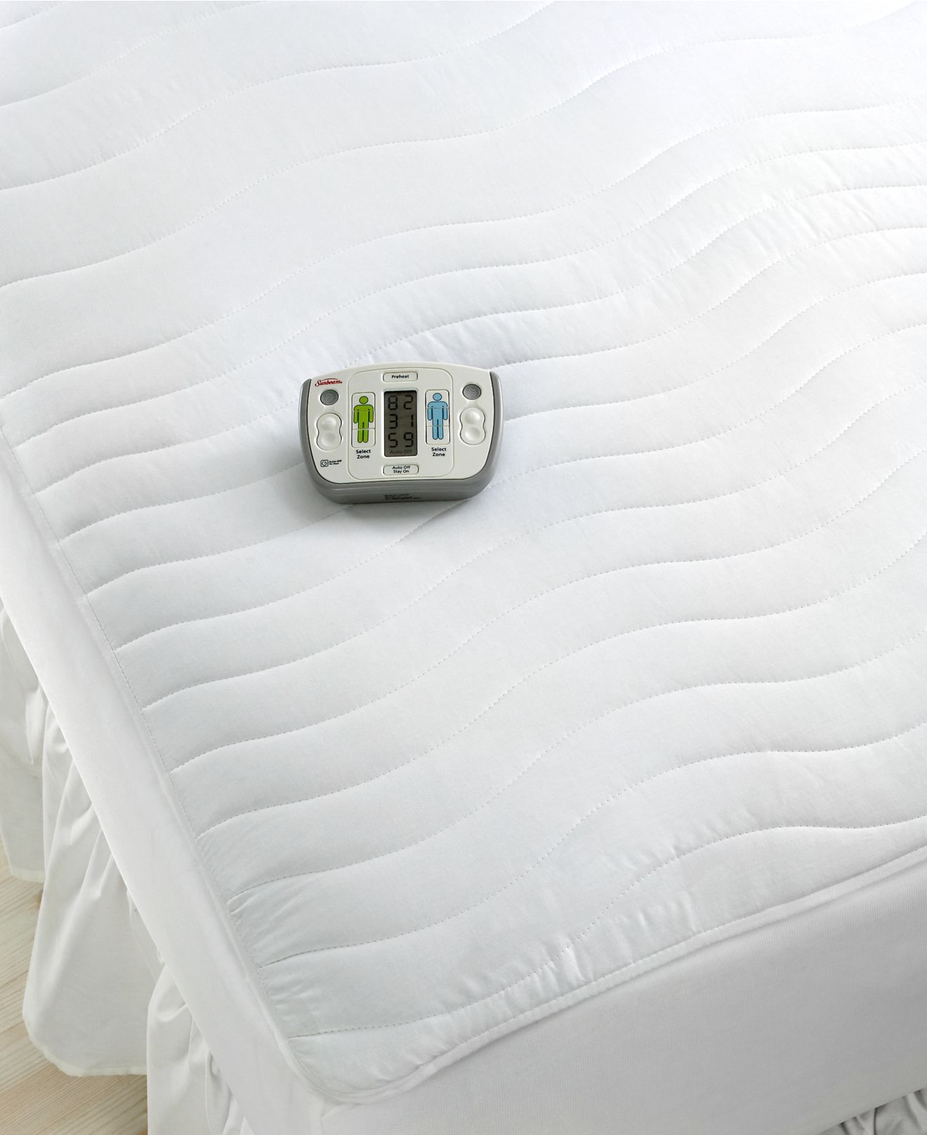 Sunbeam rest and relieve therapeutic heated extra deep mattress ...