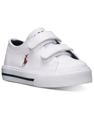 Polo Ralph Lauren Toddler Boys\u0026#39; Scholar EZ Casual Velcro? Sneakers from Finish Line