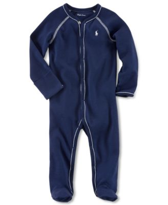 Ralph Lauren Baby Coverall, Baby Boys Solid Coverall