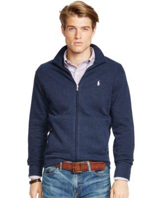 Polo Ralph Lauren French-Rib Full-Zip Jacket