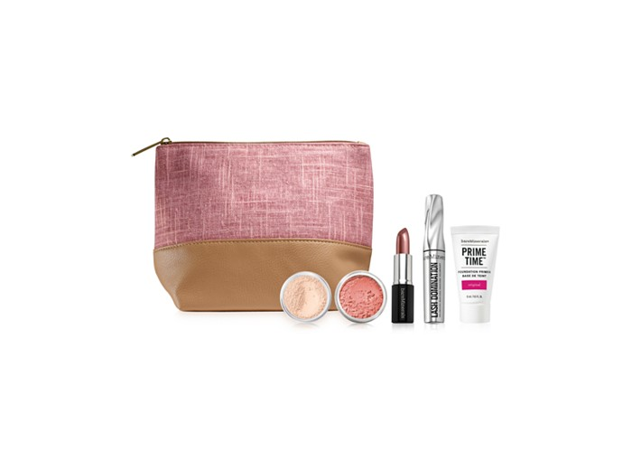 Receive a free 6-piece bonus gift with your $60 bareMinerals purchase