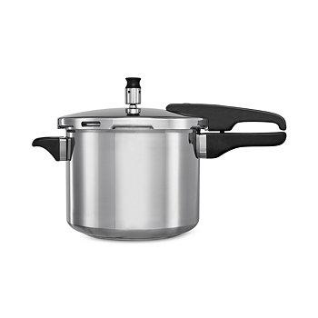 Bella Cucina 5-Quart Aluminum Pressure Cooker