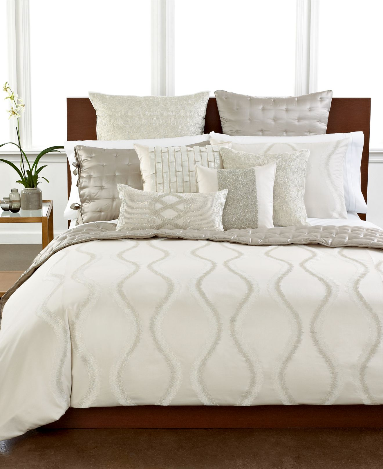Hotel collection finest luster bedding collection, only at macy's ...