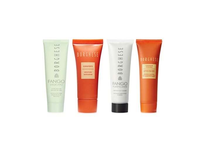 Receive a free 4-piece bonus gift with your $35 Borghese purchase