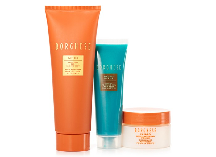 Receive a free 3-piece bonus gift with your $50 Borghese purchase