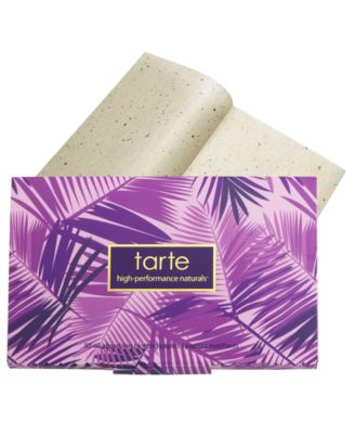 tarte not so slick oil-absorbing blotting papers