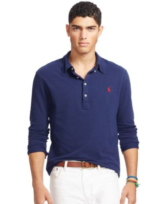 Polo Ralph Lauren Men\u0026#39;s Featherweight Mesh Polo Shirt