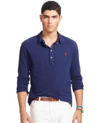 Polo Ralph Lauren Men\u0026#39;s Featherweight Mesh Polo Shirt
