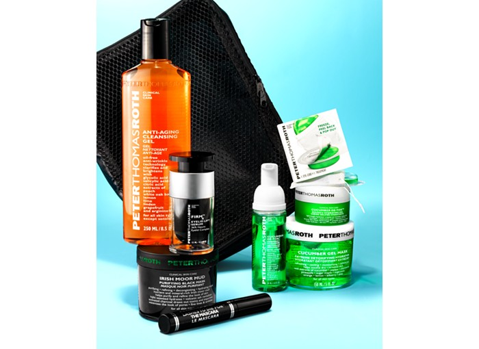Receive a free 6-piece bonus gift with your $145 Peter Thomas Roth purchase