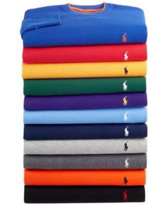 Polo Ralph Lauren Men\u0026#39;s Thermal Tops and Bottoms - Pajamas, Lounge \u0026amp; Sleepwear - Men - Macy\u0026#39;s