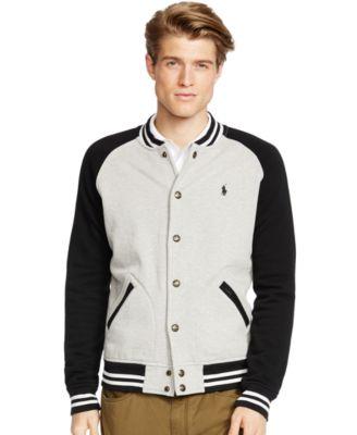 Fleece Baseball Jacket OWs1OB
