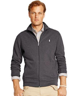 Polo Ralph Lauren Big \u0026amp; Tall French-Rib Full-Zip Jacket