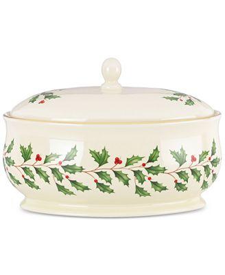 Lenox Holiday Covered Dish