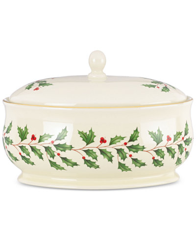 Lenox Holiday Covered Dish