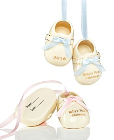 ... Decorations Cm Transparent Colored Christmas Ball Ornament Clearance Sale Online. holiday lane babys first pair of booties ornament only at macys