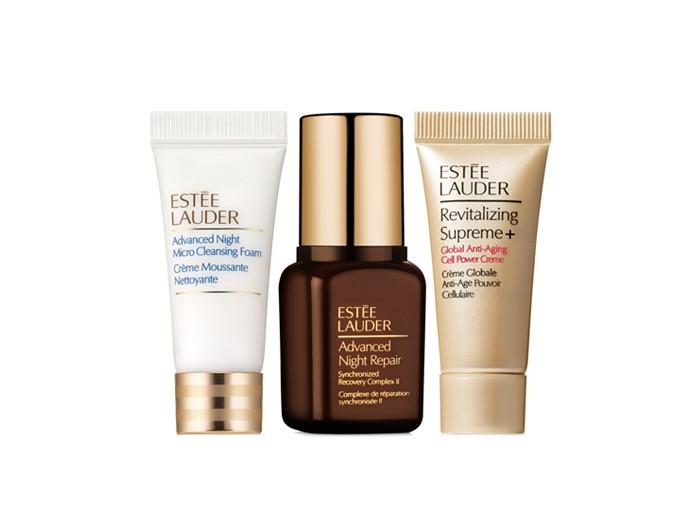 Receive a free 3-piece bonus gift with your $55 Estée Lauder purchase