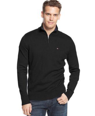 Tommy Hilfiger McLaughlan Half,Zip Sweater