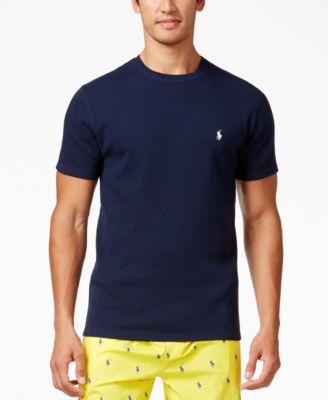Ralph Lauren New York Darkblue Short Sleeved Polo Men