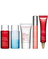 Receive a free 5-piece bonus gift with your $85 Clarins purchase