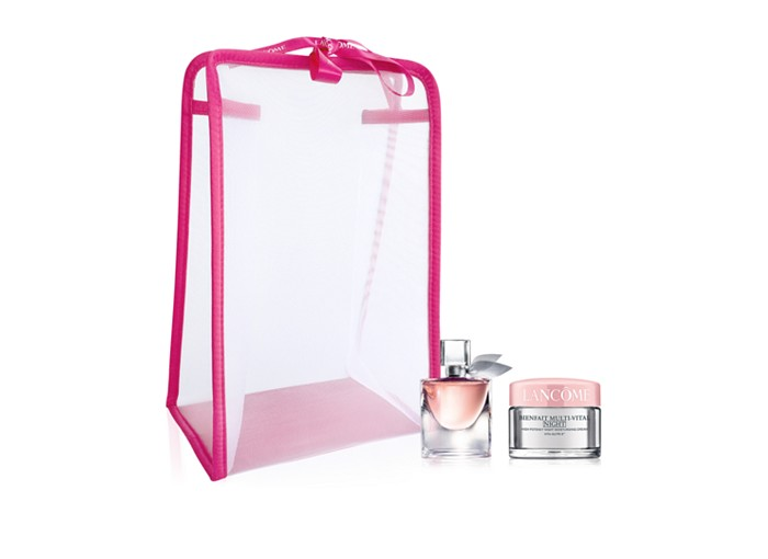Receive a free 3-piece bonus gift with your $125 Lancôme purchase