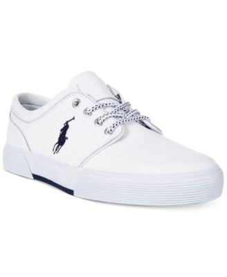 Polo Ralph Lauren Faxon Low Leather Sneakers