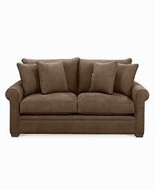 dial fabric microfiber apartment sofa apartment scale furniture