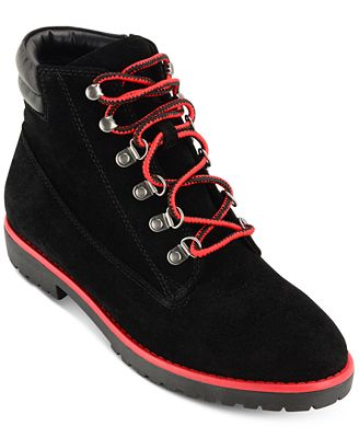 Lauren Ralph Lauren Mikelle Cold-Weather Lace-Up Booties