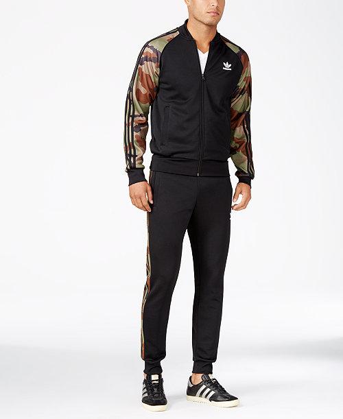 82f1e080e8dc adidas Men s Originals Superstar Camo Track Jacket   Pants on sale ...