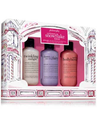 philosophy 3-Pc. Enchanted Snowflake Forest Shower Gel Set, Only at Macy's