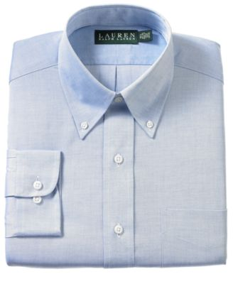 Lauren Ralph Lauren Non-Iron Pinpoint Dress Shirt