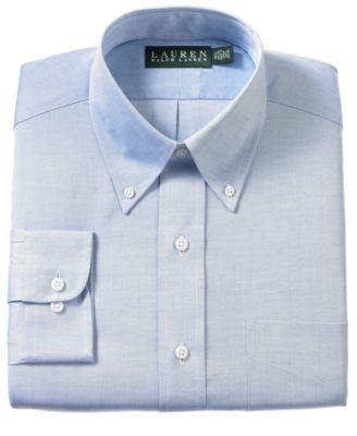 Lauren Ralph Lauren Non-Iron Pinpoint Dress Shirt