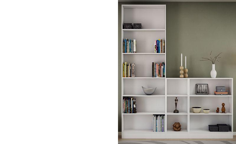 Berkley Ready-to-Assemble Short Wide Bookcase, Quick Ship - Furniture -  Macy's - Berkley Ready-to-Assemble Short Wide Bookcase, Quick Ship