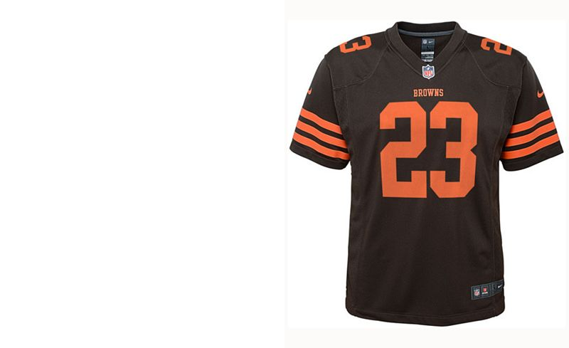 4022059fb49 ... closeout nike joe haden cleveland browns color rush jersey . 0655b 7ac57
