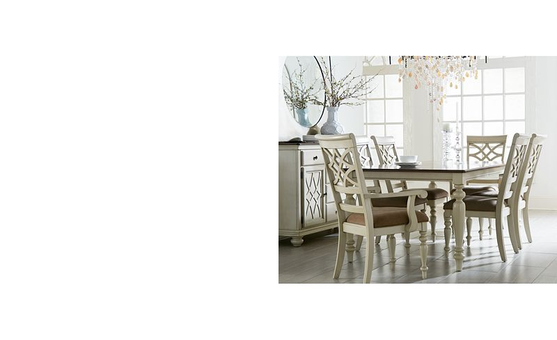 Windward 9 Pc Dining Set Table 6 Side Chairs 2 Arm