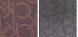 Brown Khaki Photoprint/Gold