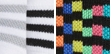 White/Black/Grey Stripes