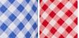 Chania Check- Blue/white