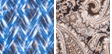Blue Zigzagstripe