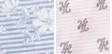 Chambray Look Stripe W/ Flowers