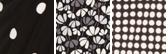 Anne Black/White Dot Print