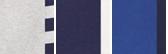 Andover Hthr Cruise Navy Stripe