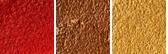 Frickin' Brilliant - deep coppery red w/ chunky orange pearl
