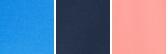 Collegiate Navy, White Logo