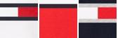 White Combo Flag Stripe