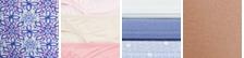 Crochet Tile/Soft Lilac/White