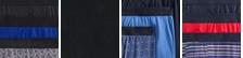 Blue Jay/Shibori Stitch/Black