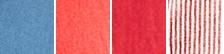 Orient Red/white