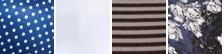 Navy w/ White Dot