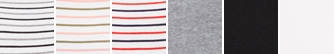 White-Black-Grey Stripe